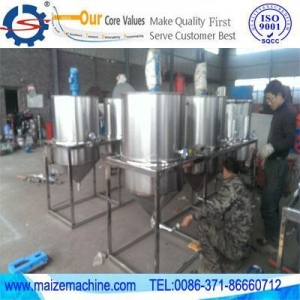 China oil press machine+ Crude palm oil refining machine on sale