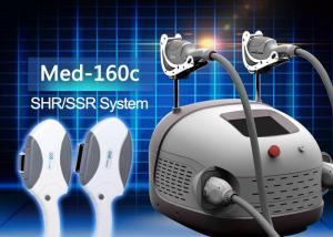 China IPL SHR SSR intense pulsed light treatment / RF beauty machine on sale