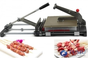 China Meat skewer machine on sale