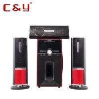 China C&Y 3310 3.1 CH home theater surround sound speaker system with bluetooth FM USB/SD input on sale