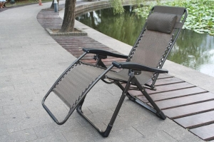 China Sun loungers square tube recliner chair on sale