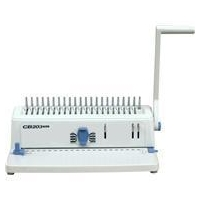 Office type manual comb binding machine (CB203 PLUS)