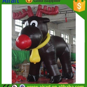 China Christmas Inflatables Inflatable Blow up deers on sale