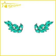 China Guangzhou Shining Jewelry cute angle wing jewelry for party earrings stud on sale