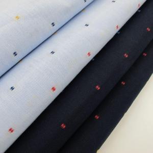 China 100% Cotton Yarn Dyed Shirting Fabric Roll Dobby Design on sale