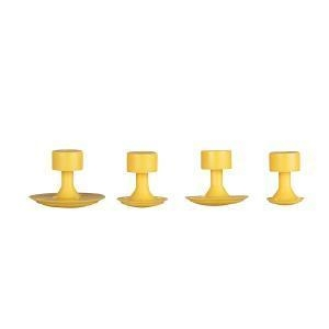 China 4pcs Paintless Dent Removal Yellow Glue Tabs For Sale on sale