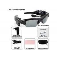 China 5in1 HD 1280*1024 Spy Sunglasses Camera DVR Video Recorder MP3 Player Bluetooth 4GB on sale