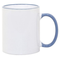 Drinkware 21127-1 11 oz ORCA Rim + Handle Mug Cambridge Blue