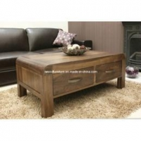 China Drawer Coffee Table - Wooden Coffee Tables - Living Room Furniture on sale