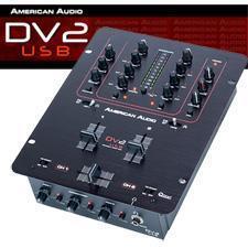 China American Audio DV2 USB DJ Mixer on sale