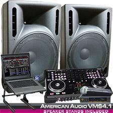 China American DJ VMS4.1 Digital MIDI Work station System Package on sale