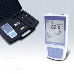 China Portable Conductivity/TDS/Salinity/Resistivity Meter on sale