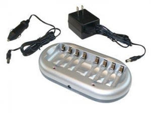 China VL9878UVelleman NiMH / NiCd BATTERY CHARGER FOR AA OR AAA BATTERIES - AC AND CAR ADAPTER on sale