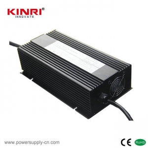 China 750W Battery Charger For Lead Acid Batteries With Metal Housing on sale