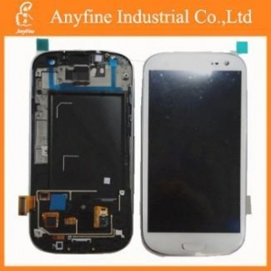 China LCD with touch screen complete for samsung galaxy i9300 Moblie phone LCD Screen on sale