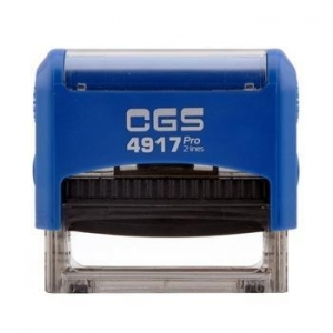 China Plastic Material and Self-Inking Stamp Type Self Inking Office Stamp on sale
