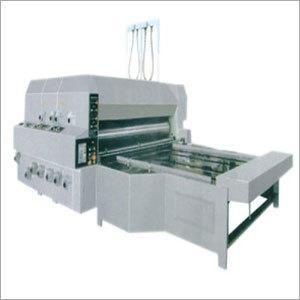 China Semi Automatic Chain Feeder Flexo Printing Slotter on sale