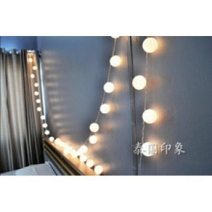 China 5M 20 cotton ball string lights on sale