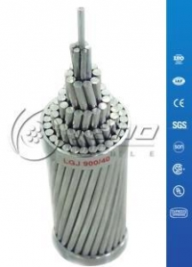 China Aluminum Conductor Steel reinforced (ACSR) Cables to ASTM B232 / B232M Standard on sale