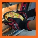 Oven Gloves Heat Resistant and Certified to 932F Great as Smoking Gloves
