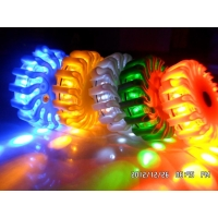 9 in 1 16 led rechargeable led emergency flares Blue