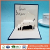 China Handmade Card Hot Great For Design Creative Printable Handcrafted Birthday Invitation Cards for sale