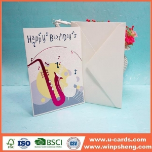 China Handmade Card Customized Free Printable Handmade Birthday Invitation Cards For Men on sale