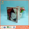 China Handmade Card Top Sale Beautiful 4C Printing Hand Making Christmas Paper Card for sale