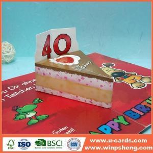 China Handmade Card Make Love Pop Up Birthday Cards For Kids on sale