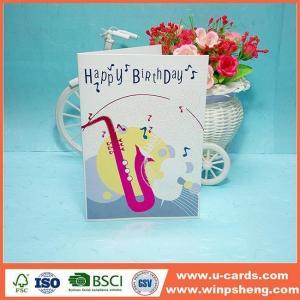 China Handmade Card Custom Children's Handmade Making Ideas Love Birthday Cards on sale