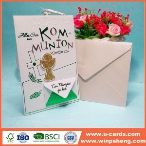 China Handmade Card DIY Cool Greeting Cards Birthday Card Homemade Make By Hand on sale