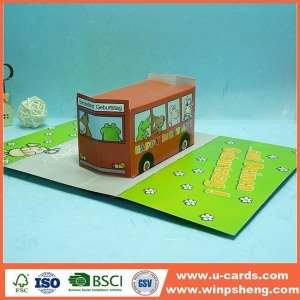 China Handmade Card Easy Pop Up Cards To Make For Kids on sale