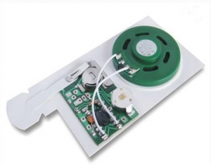 China Handmade Card Small Voice Recorder For Greeting Card With Birthday Greeting on sale