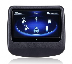China High Definition Touch Screen Car Headrest Monitor for Rear Seat Passenger on sale
