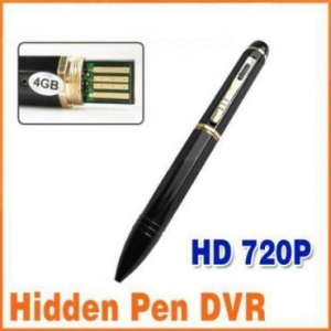China HD 720P Spy Pen Camera 4GB Mini Camcorder DV DVR Cam on sale