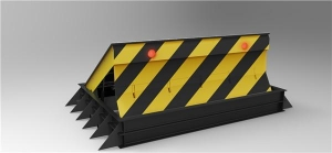 China K12/PAS68 Crash Rated Anti Terrorism Hydraulic Rising Road Blocker on sale