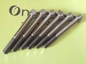 China Ti Fastener,Titanium Ti Bolt,Titanium Screw on sale
