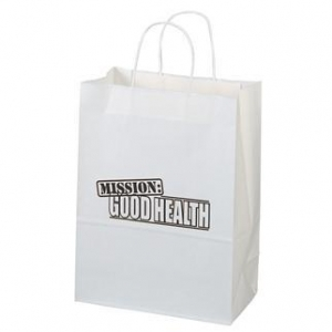 China Personalized Brown Paper Shopping Bag - Queen 16x6x19.25 on sale