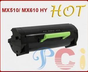 China Black Toner Kits Lexmark MX510/ MX610 HY New build on sale