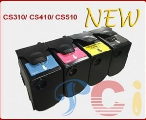 China Color Toner Cartridge Lexmark CS310 with Chip on sale