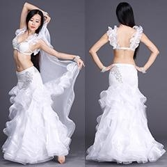 China Glourious Performance Sexy Belly Dance Diamond Costume,Adult Belly Dance Costume on sale