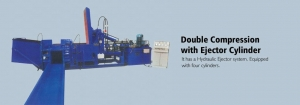 China Double Compression Baling Press on sale