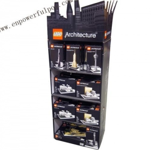 China lego architecture floor stand on sale