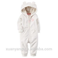 Hot Saling High Quality Warm Winter Animal Style Hot Selling Baby Girls Rompers