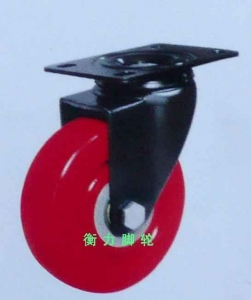 China Medium-duty-caster-wheel medium duty plate swivel caster wheel on sale