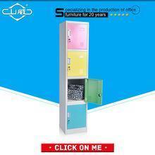 China Locker/Wardrobe Series popular selling metal locker wardrobe cabinet with mirror on sale