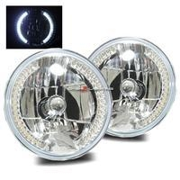 China Headlights 7 H6024 Round LED Strip Headlights - Chrome on sale