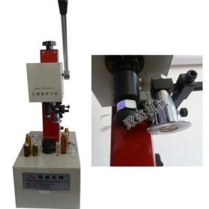 China Manual glass vial bottle capping machine on sale