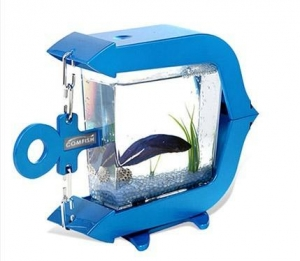 China Usb Powered Mini Aquarium Fish Tank on sale