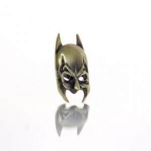 China Bronze Metal Car Truck Body Decal Batman Mask Logo Emblem Sticker #6021 on sale